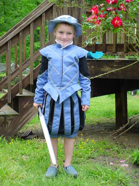 Boy's Elizabethan Suit