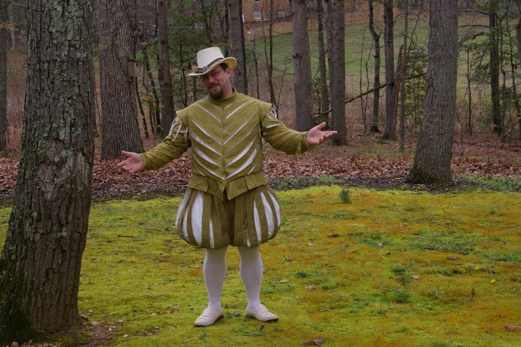 Green Elizabethan Suit