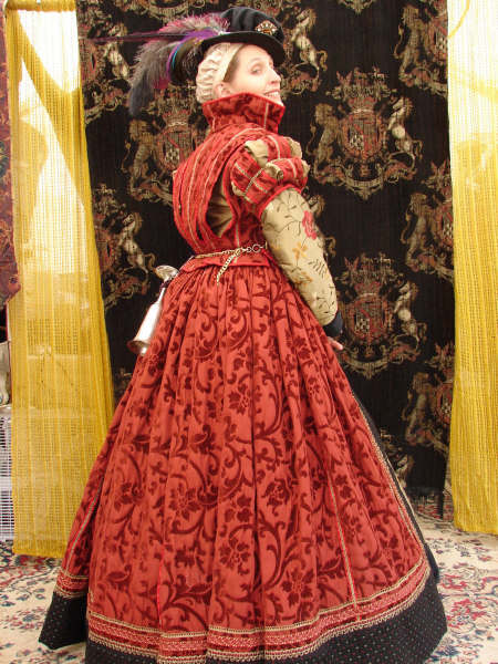 Red Italian Gown