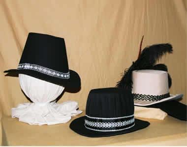 3 Tall Hats